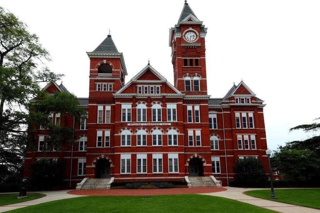 William J. Samford Hall at Auburn University in Auburn, Alabama