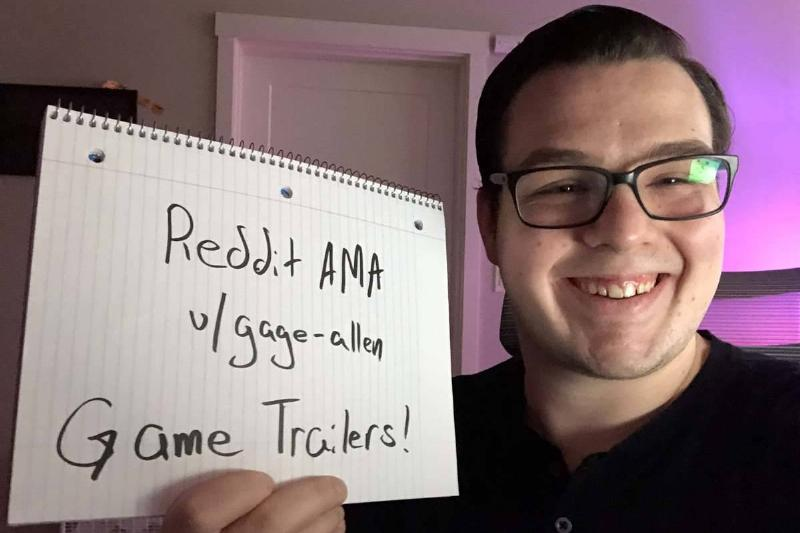 Gage Allen posts a photo for an AMA (Ask Me Anything) thread on Reddit.