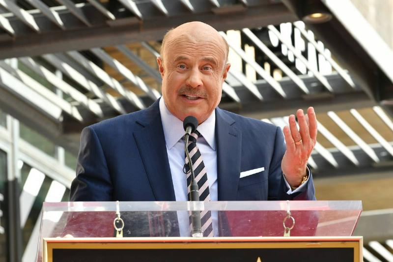 Dr. Phil McGraw Honored With A Star On The Hollywood Walk Of Fame