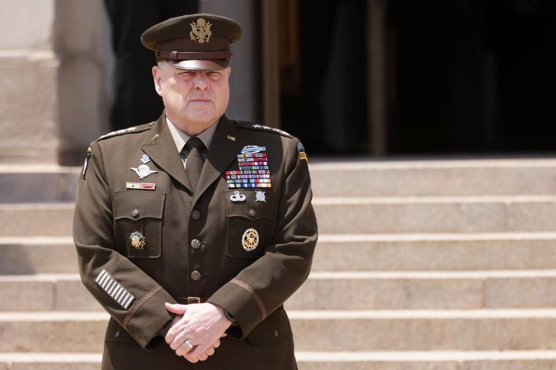 General Milley Hosts Honor Cordon For Israeli Defense Chief Gantz At The Pentagon