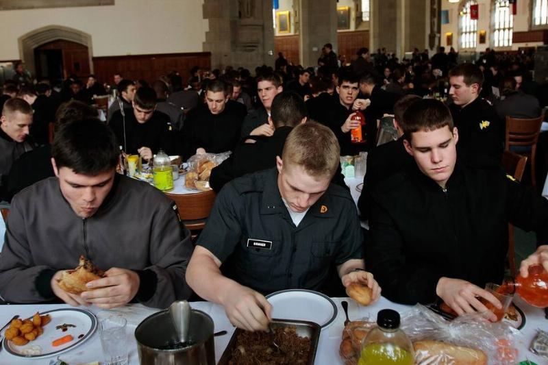 Two Century Old Mess Hall Tradition Endures At West Point