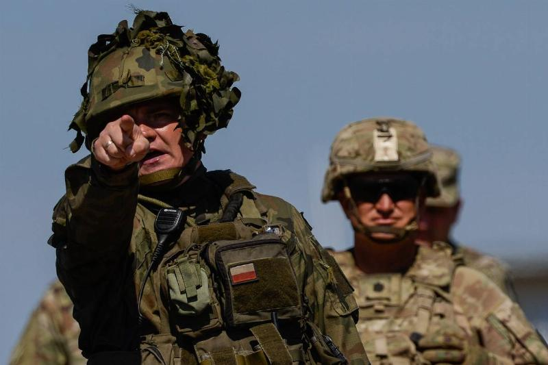 US-Poland Army Exercises Held Ahead Of Pompeo Visit