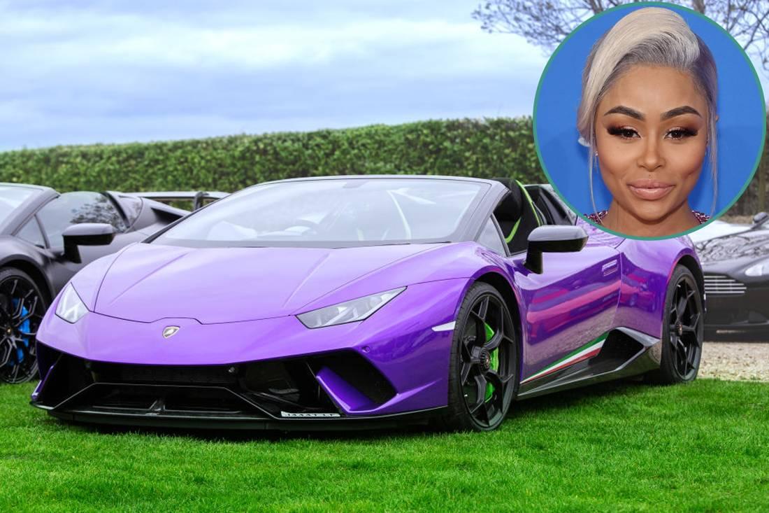 Blac Chyna - Lamborghini Huracan