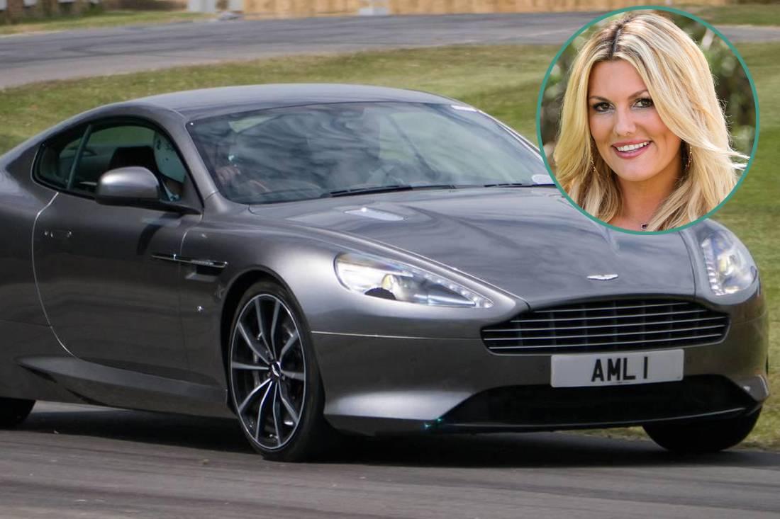 Courtney Hansen - Aston Martin DB9