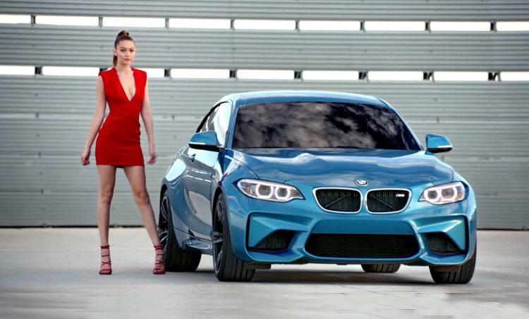 Gigi Hadid - BMW M2