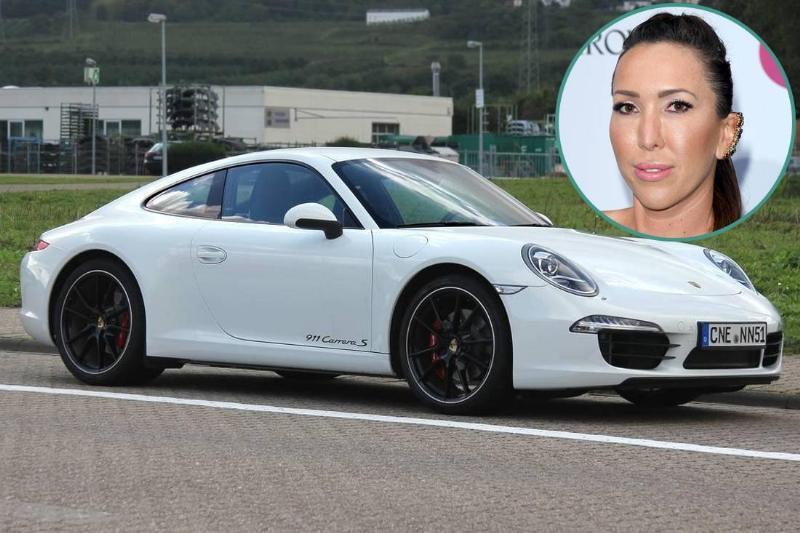 Jelena Jankovic - Porsche 911 Carrera