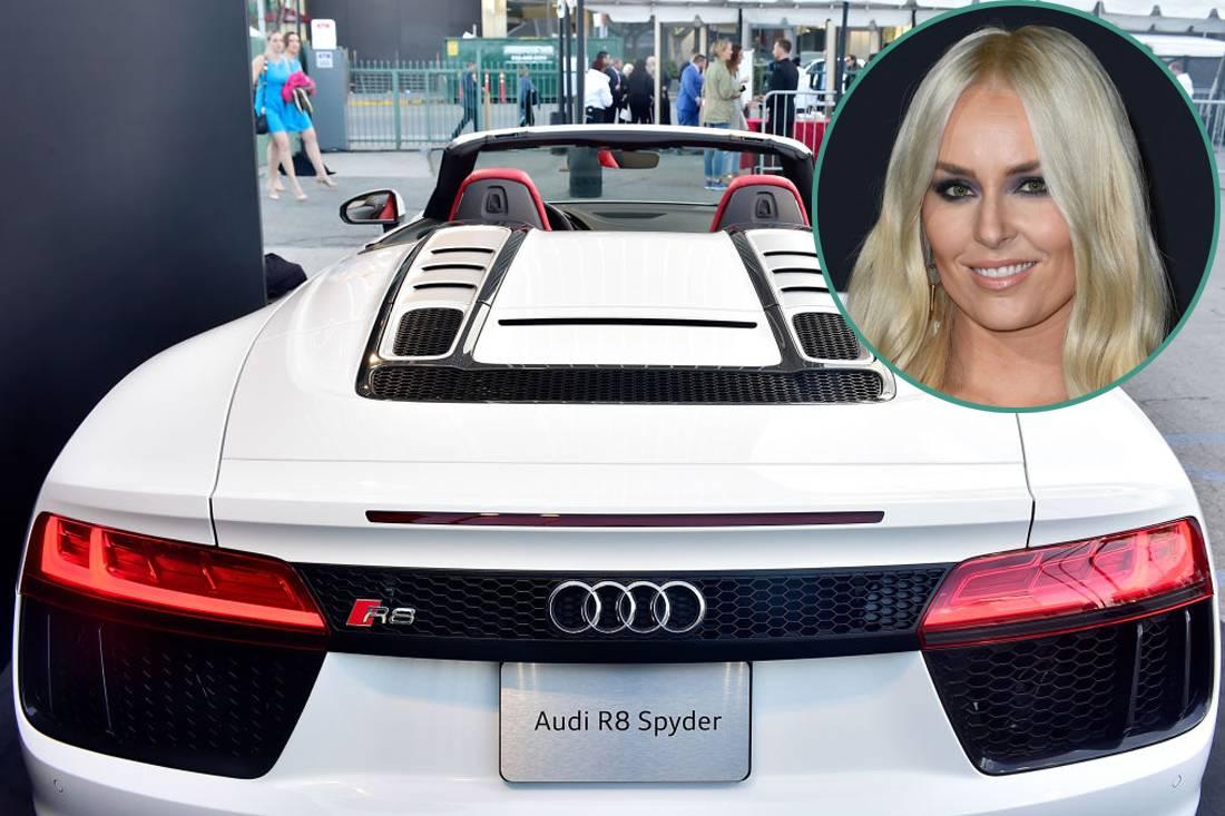 Lindsey Vonn - Audi R8 Spyder