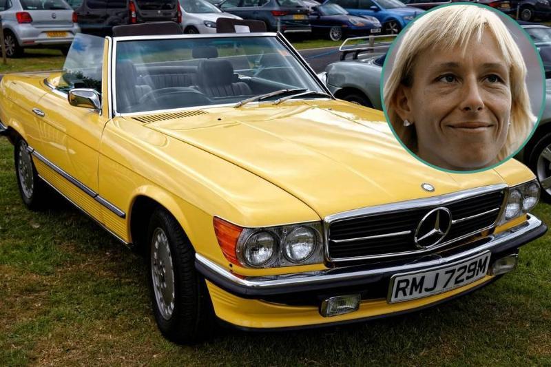 Martina Navratilova Mercedes