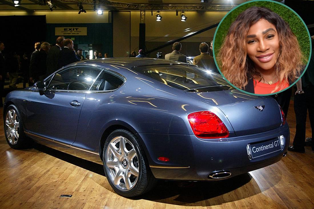 Serena Williams - Bentley Continental