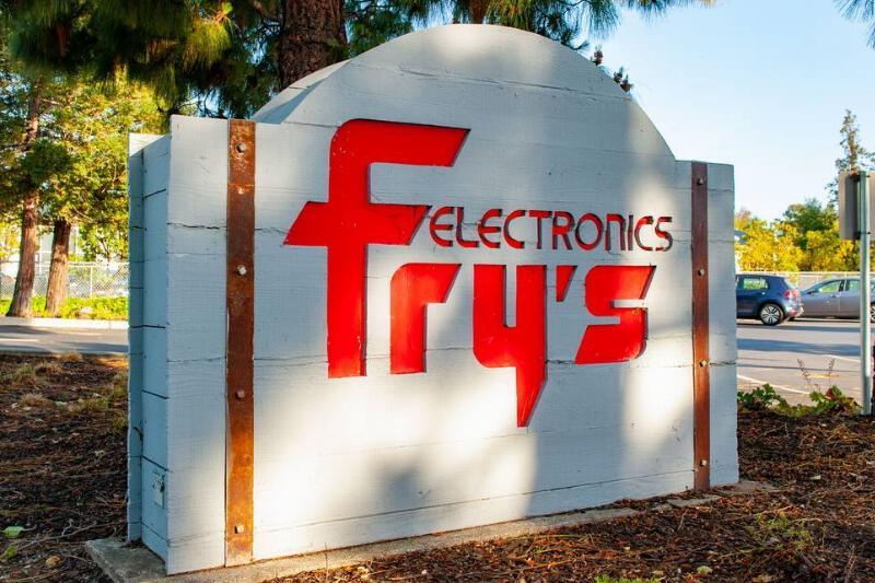 Closure of Fry's Electronics