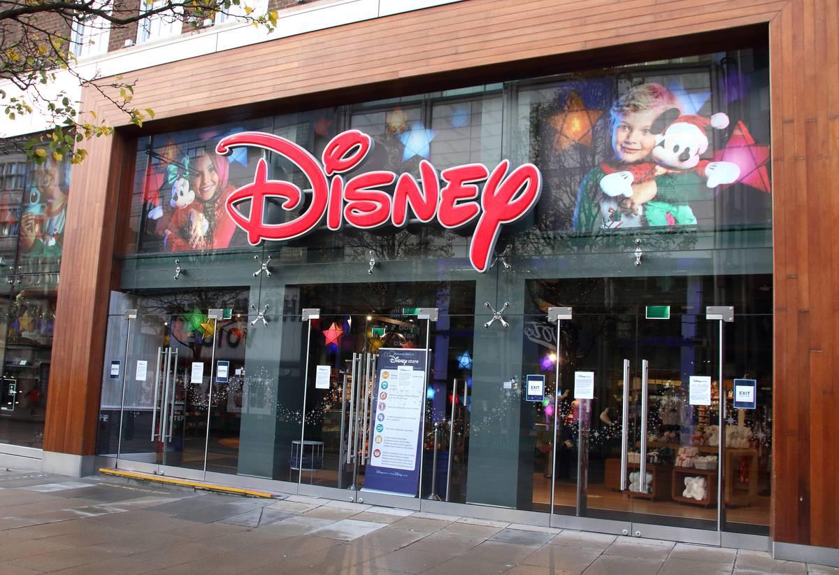 Disney store on Oxford Street...